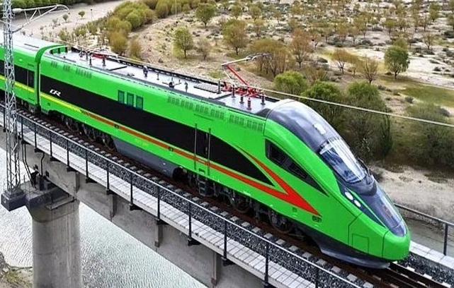 चीन द्वारा भारतीय सीमा के नजदीक तिब्बत में पहली बुलेट ट्रेन की शुरुआत