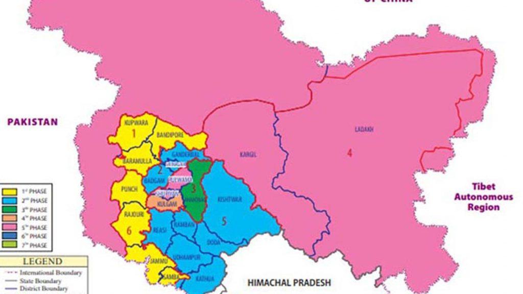 जम्मू और कश्मीर में परिसीमन (Delimitation in Jammu and and Kashmir)